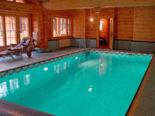 Плавательный бассейн с переменной глубиной