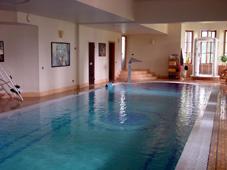 Плавательный бассейн с переливом