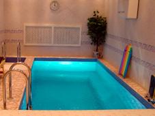 Плавательный бассейн при сауне