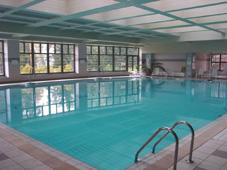 Бетонный бассейн, облицованный плиткой