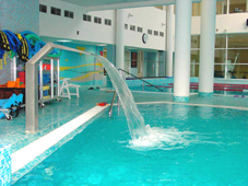 Оборудование бассейна: массажный водопад «Ласточкин хвост»