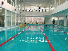 Спортивный плавательный бассейн